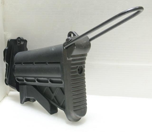 即決 実物 M249 MINIMI SAW ミニミ インプルーブド コラプシブル バットストック 5ポジション 可変ストック_画像4