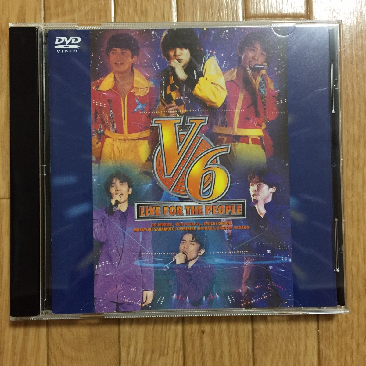 V6 LIVE FOR THE PEOPLE DVD