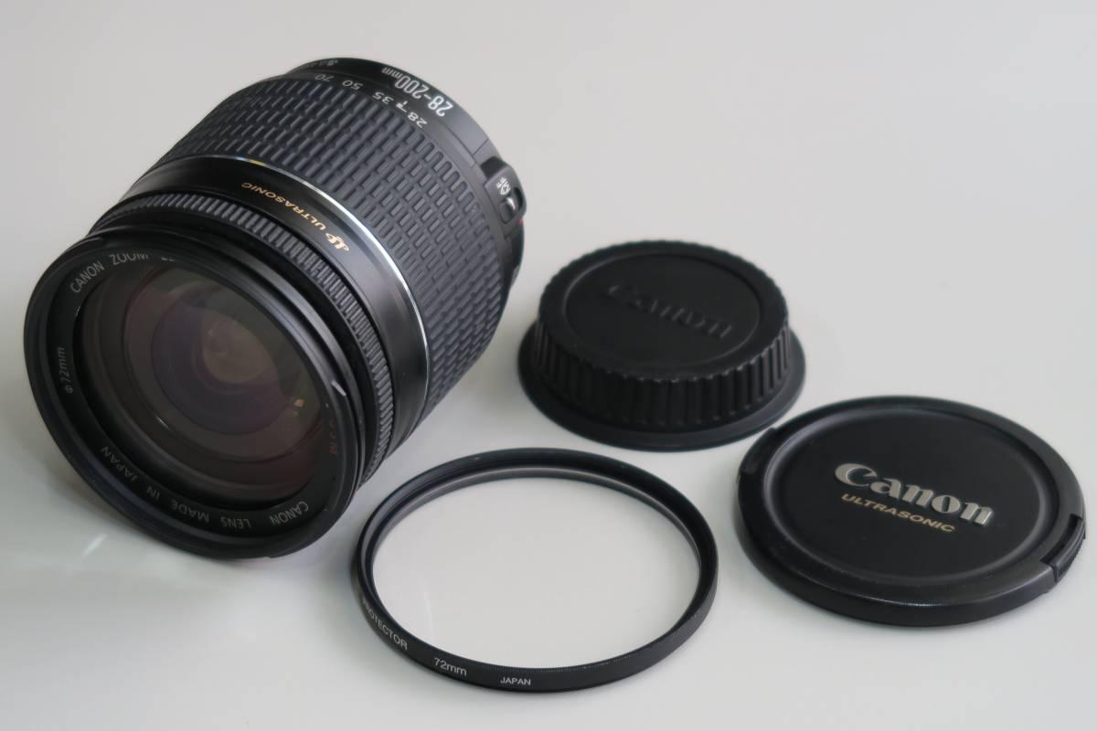 ★キャノンCanonEF 純正レンズ 28-200mm★使用品です★