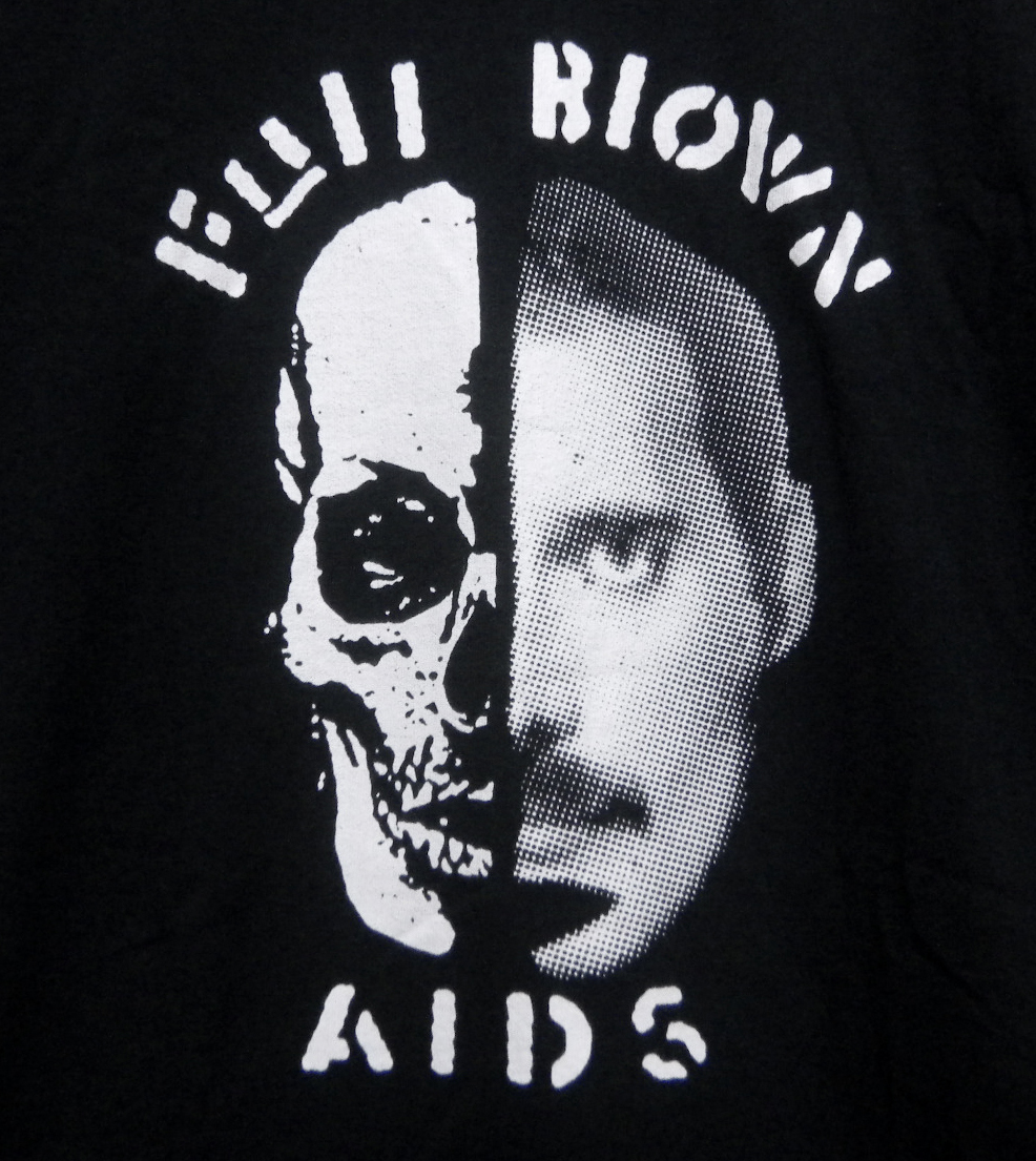 Full Blown AIDS Tシャツ spazz napalm death anal cunt massaker adolf satan carcass meat shits corrupted brutal truth boredoms gism