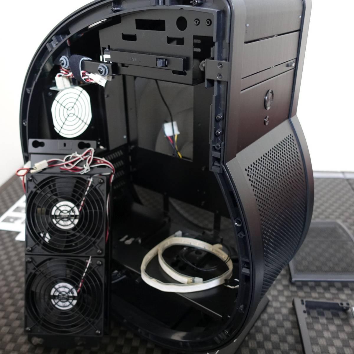 Lian Li カタツムリ型PCケース PC-U6 / アルミ Micro-ATX_画像3