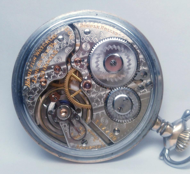 整備済◆ Hamilton 992 1st-model 初期型 21石 16S ハミルトン 懐中時計 鉄道時計