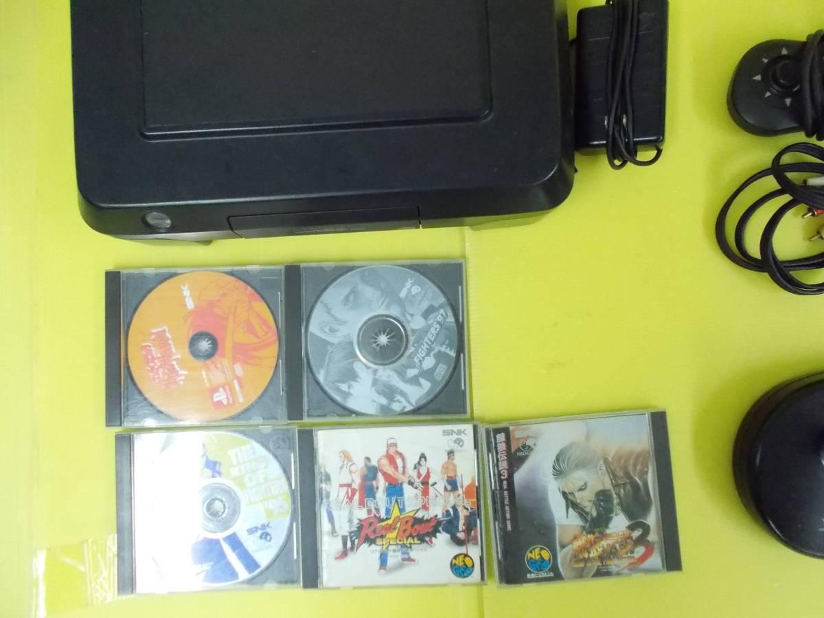 П「【ジャンク品】NEO GEO CD」ネオジオ レトロゲーム テレビゲーム_画像3