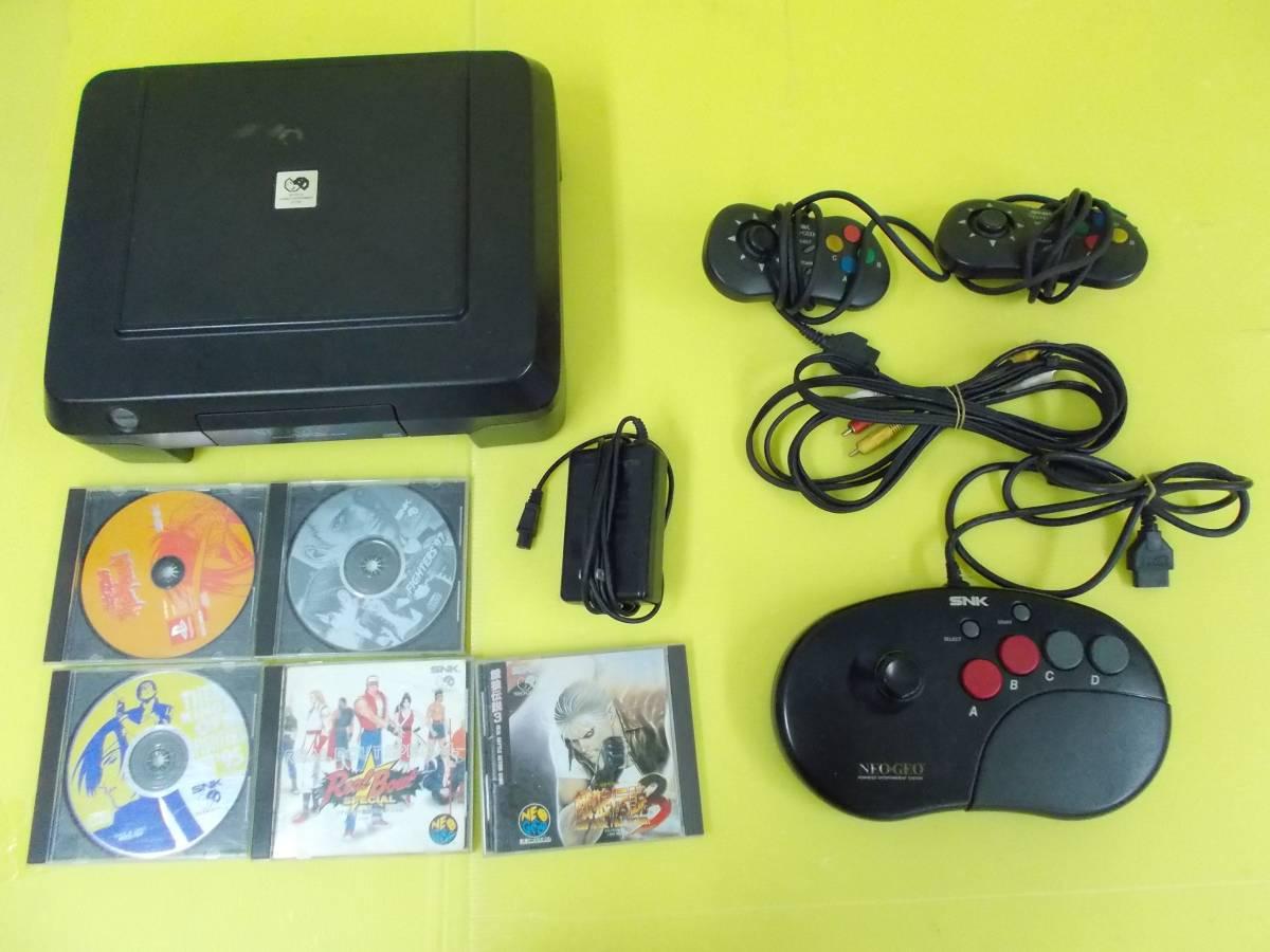 П「【ジャンク品】NEO GEO CD」ネオジオ レトロゲーム テレビゲーム