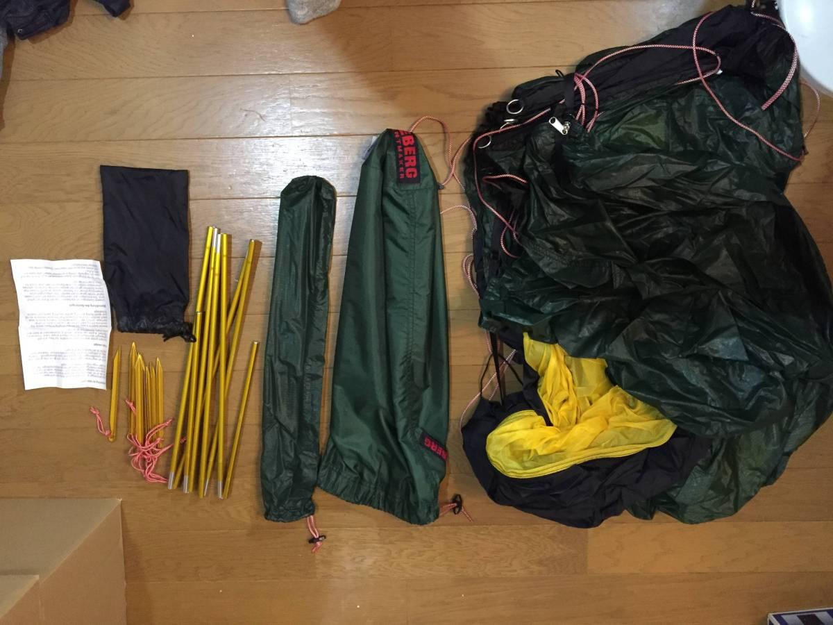 未使用品 ヒルバーグ アクト HILLEBERG テント ソロテント 山岳テント 登山 キャンプ ツーリング 自転車 バイク キャンプツーリング_画像2