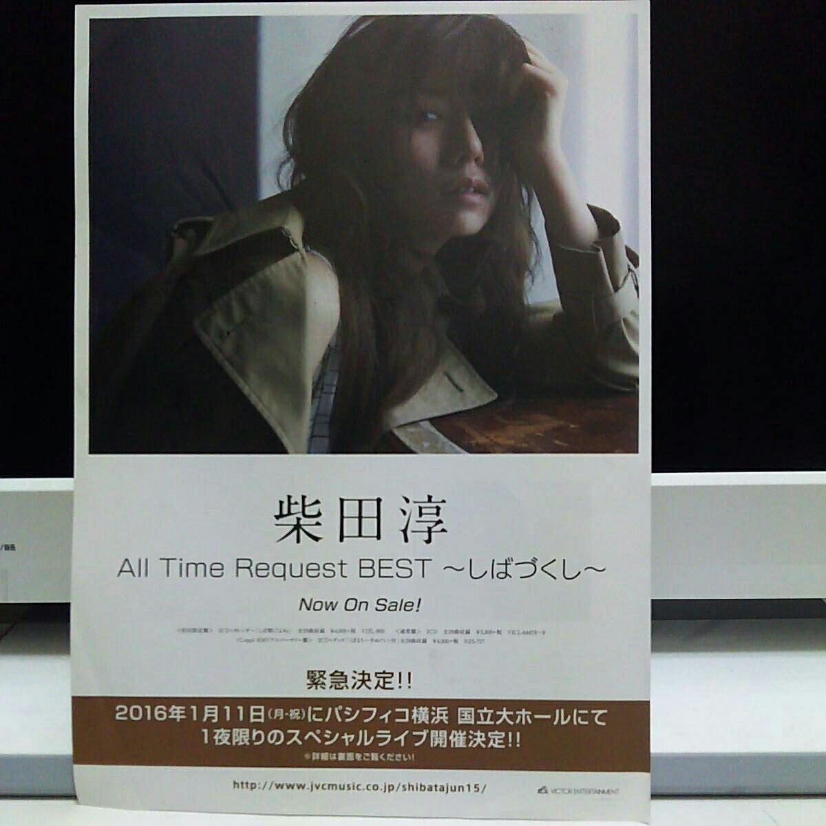 柴田淳CD発売告知チラシ2枚組