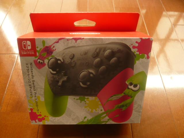 新品 Nintendo Switch Proコントローラー スプラトゥーン2