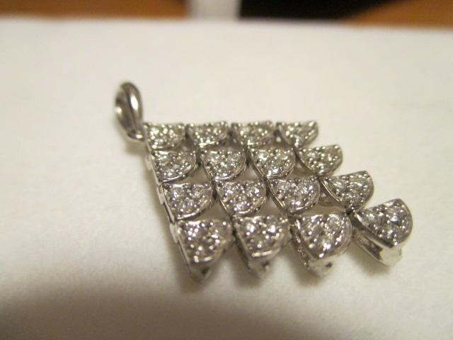 美品 K18WG ダイヤ 0.53ct トップ_画像2