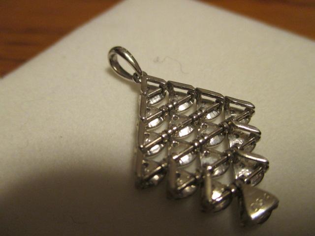 美品 K18WG ダイヤ 0.53ct トップ_画像3