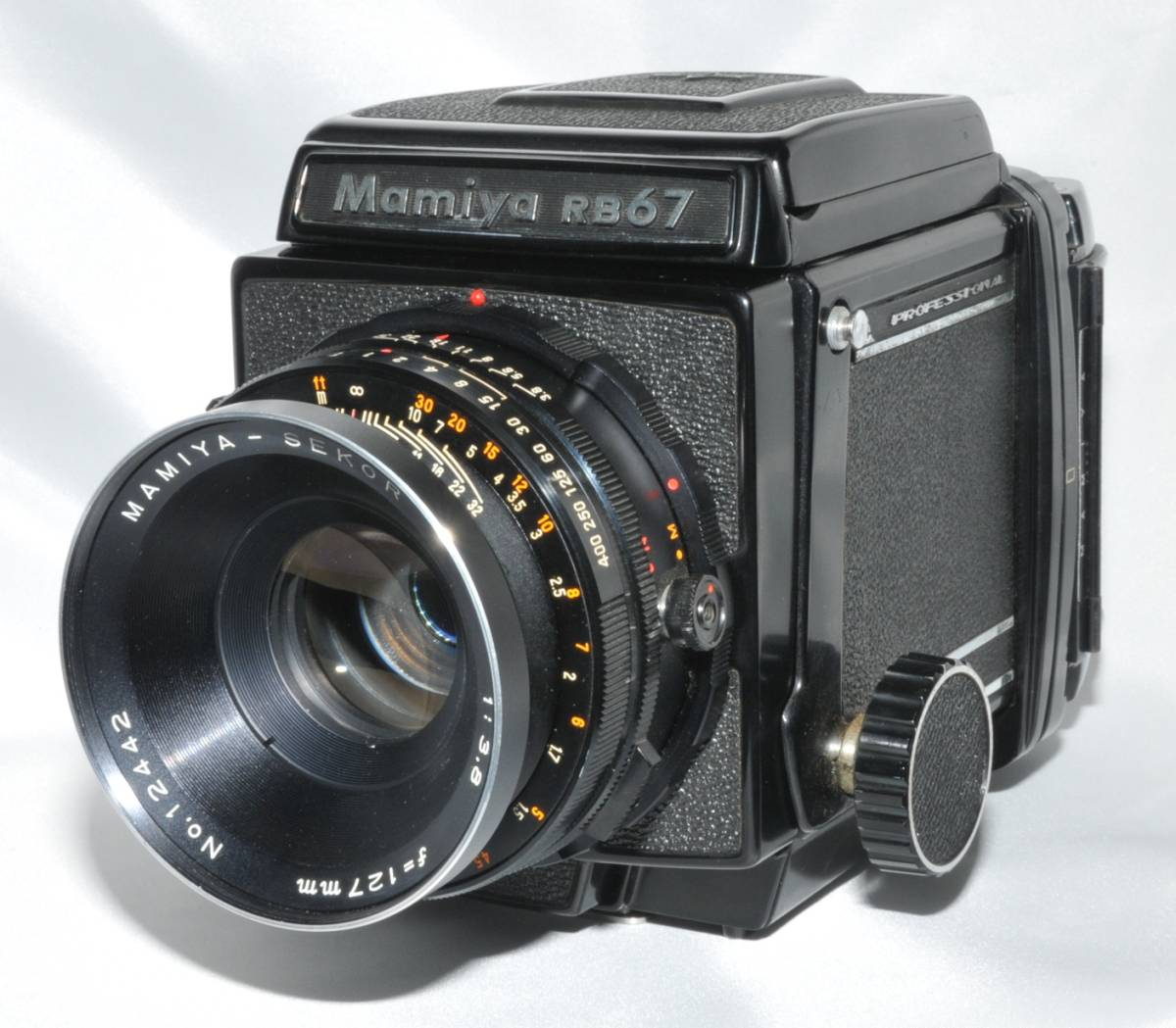 Mamiya マミヤ RB67 127mm F3.8 ジャンク