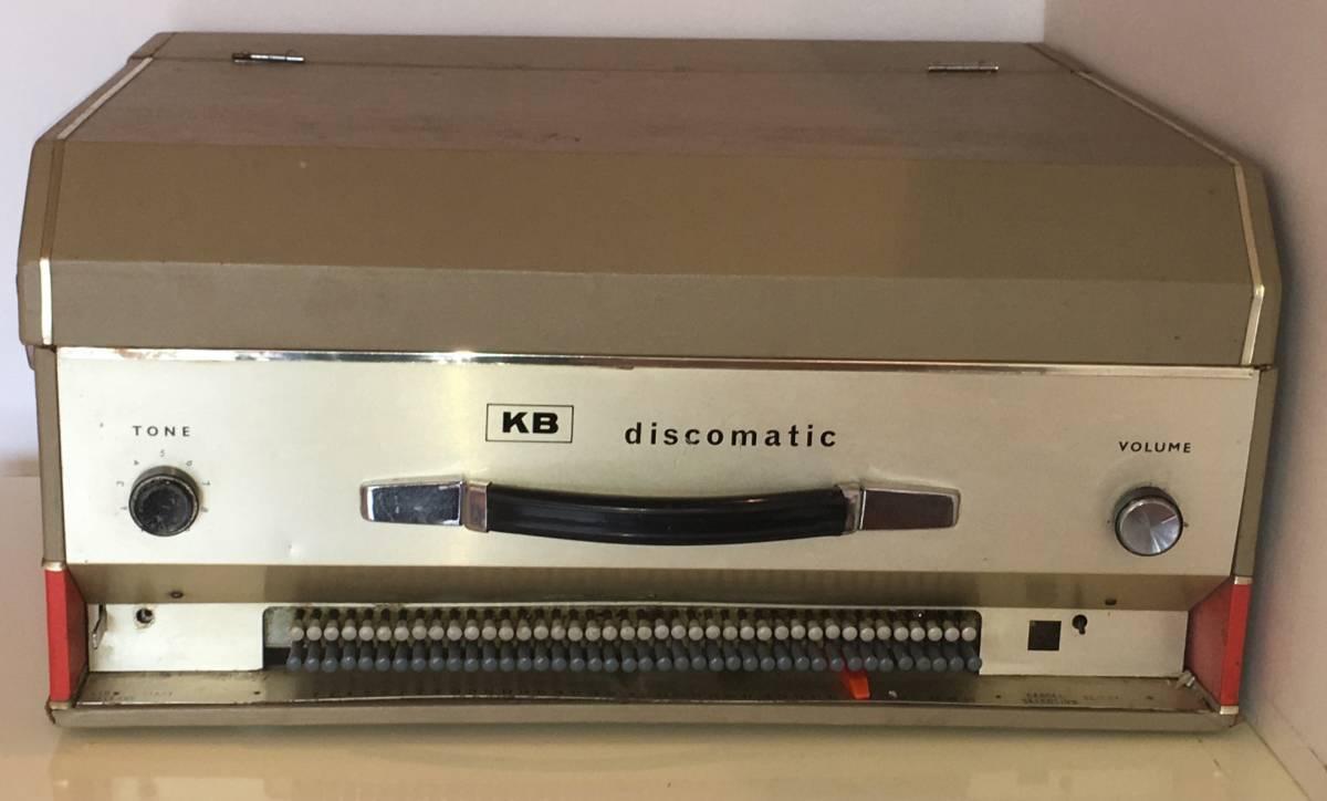 激レア!ジョン・レノン ジュークボックス KB Discmatic 同時代 同型 (展示用)+全曲シングル+CD付き