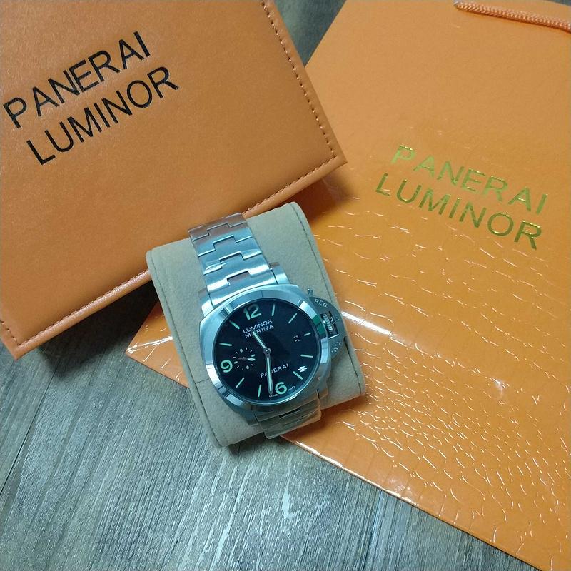 PANERAI LUMINOR パネライ 44mm ウォッチ メンズ 腕時計_画像3