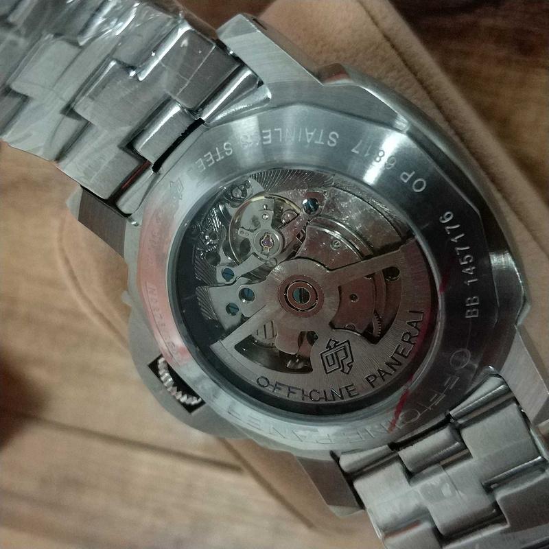 PANERAI LUMINOR パネライ 44mm ウォッチ メンズ 腕時計_画像2