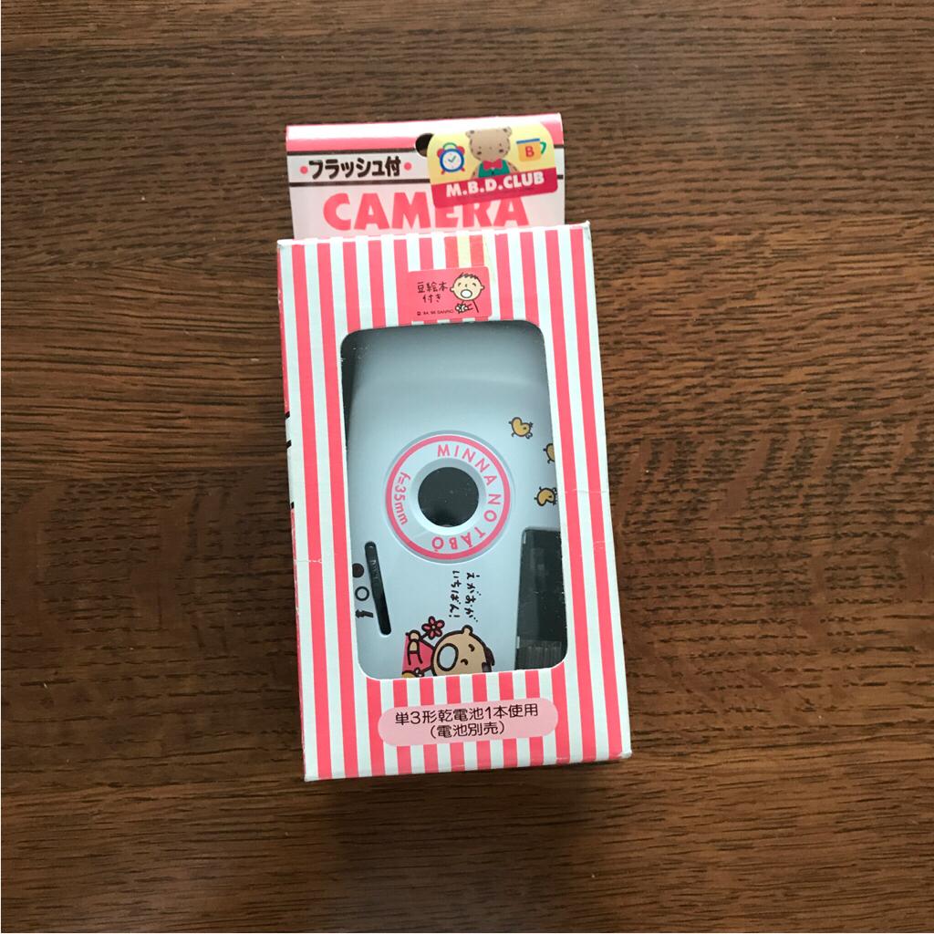 【中古・未使用】サンリオみんなのたあ坊カメラ グッズの画像