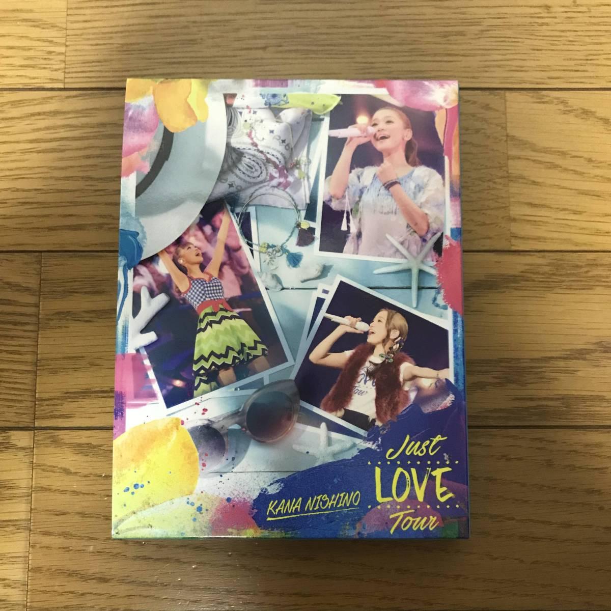 ●DVD 西野カナ Just LOVE Tour 初回生産限定盤 ライブ ライブグッズの画像