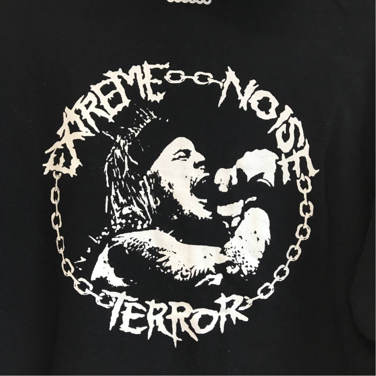 EXTREME NOISE TERROR (検索 OLEDICKFOGGY Discharge. disclose gism gauze doom crass 好きに) パーカー