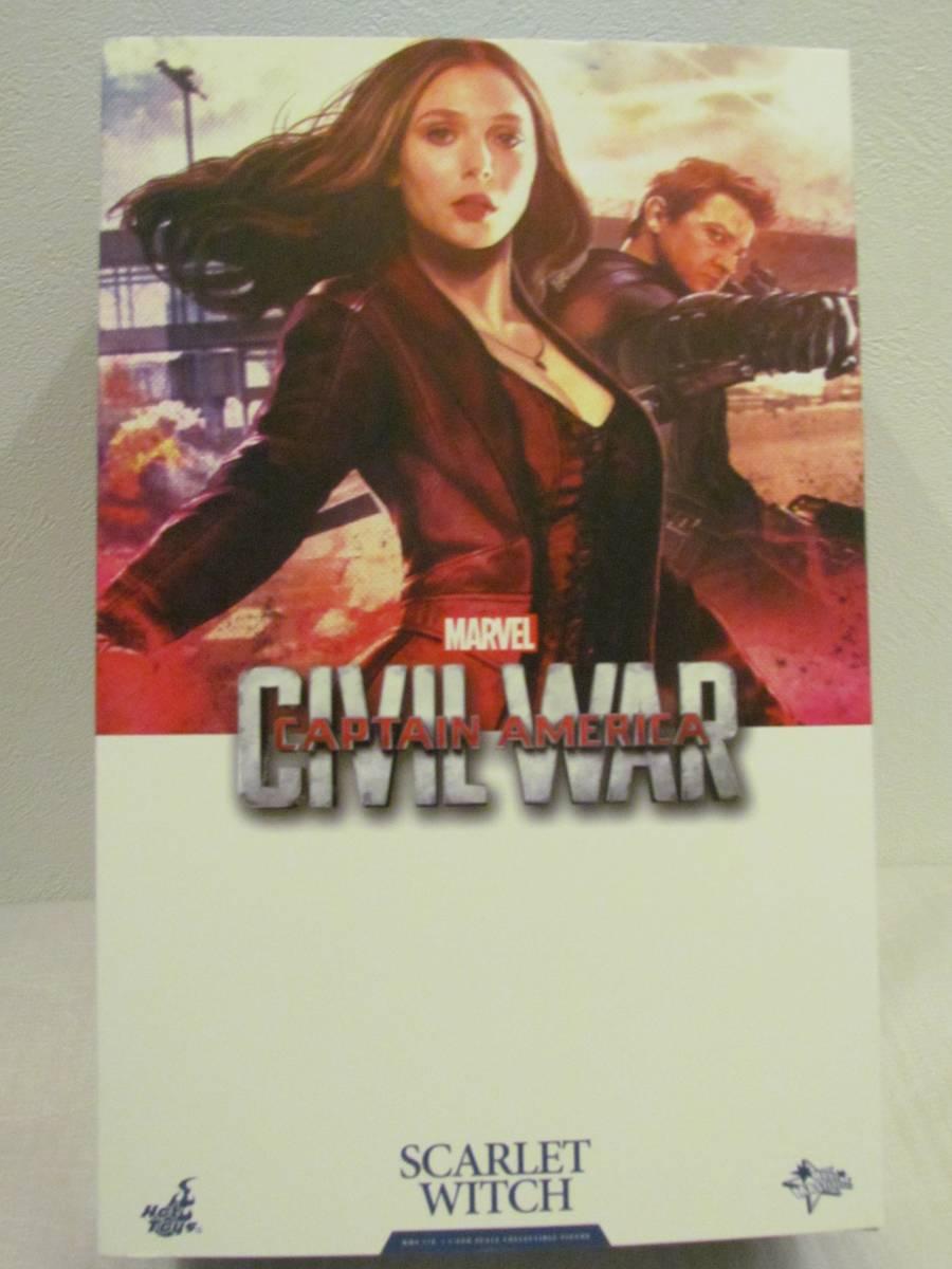 Hot Toys ホットトイズ スカーレット ウィッチ シビル ウォー Civil war CV 1/6 キャプテンアメリカ3 アベンジャーズ 映画グッズの画像