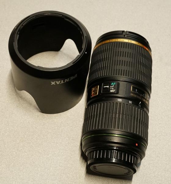 【木曜終了です】ペンタックス smc Pentax DA★ 50-135mm F2.8 ED [IF] SDM