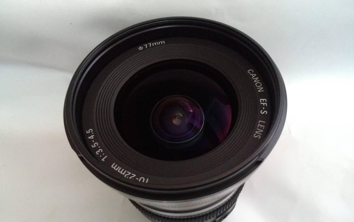☆美品☆Canon EF-S 10-22mm F3.5-4.5 USM
