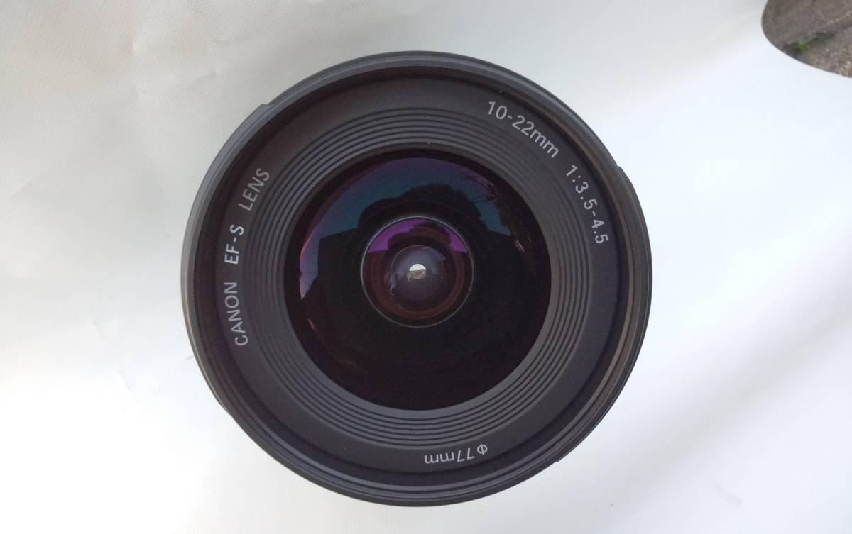 ☆新品級極上品☆Canon EF-S 10-22mm F3.5-4.5 USM