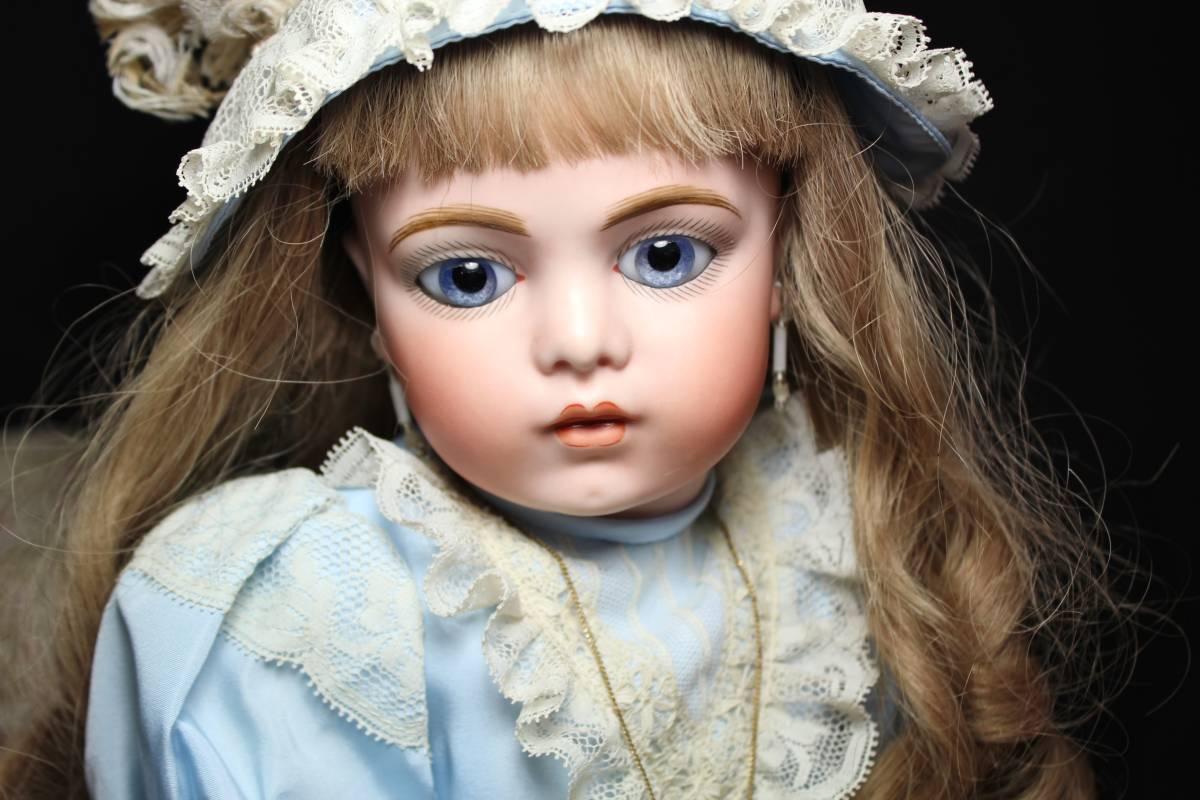 秋Sale! 完璧美少女 ブリュ・ジュン by著名作家様 1点もの 60㎝/ SD ブライス 造形 アート 美術品 西洋装飾 絵画 フランス ジュモー好きも