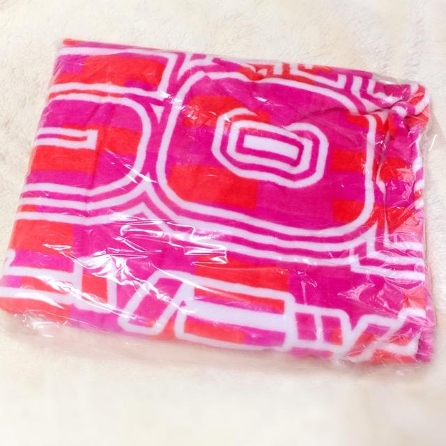 【未開封】サマーソニック2012 / ドデカタオル<ピンク>グッズ 90×150 サマソニ オフィシャルグッズ SUMMER SONIC バスタオル