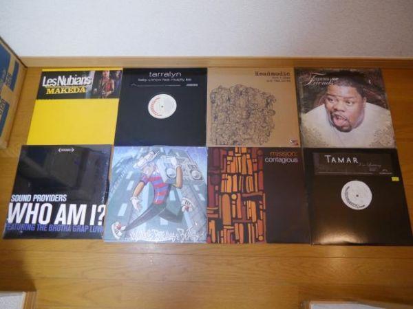【クラブ系12インチ76枚】Jazzy Hiphop/Underground Hiphop/R&B/Hiphop