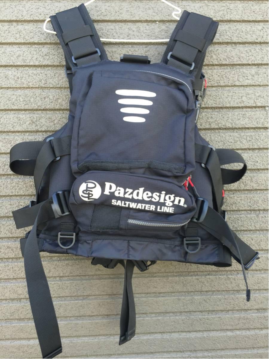 pazdesign パズデザイン フローティングベスト ライフジャケット アルティメット_画像2