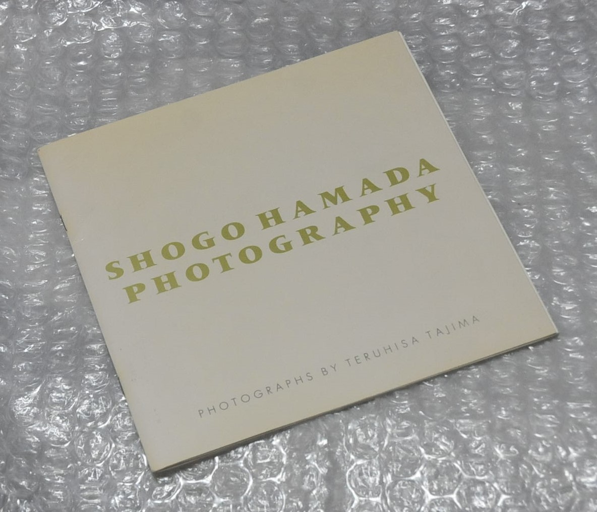 shogo hamada photography 田島照久 / 浜田省吾 FC限定 写真集 ライブグッズの画像