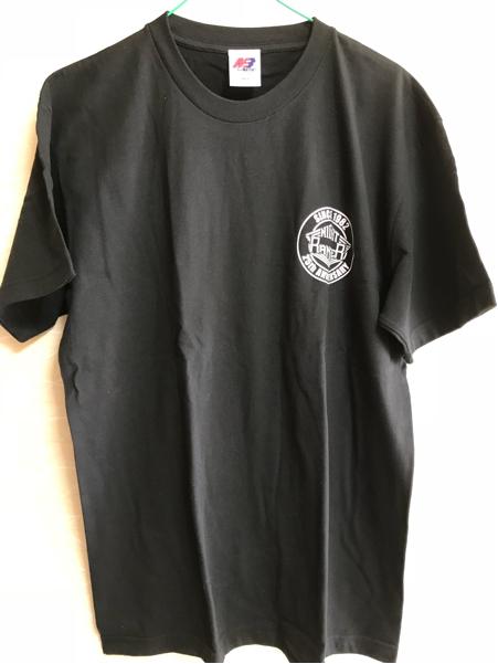 ♪ナイト・レンジャー「黒Tシャツ(25周年)/L/2007年」新品未着用/ホール・イン・ザ・サン・グッズ+おまけ2017年セットリスト♪NIGHT RANGER