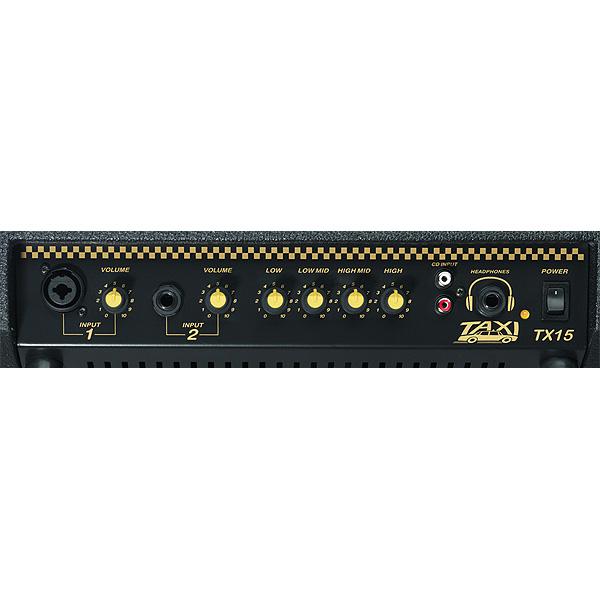 路上ライブにも最適・CRATE(クレイト) TX15J 15W BATTERY PWRD AMP ギターアンプ 充電式アンプ 【バッテリー交換済】②_画像3