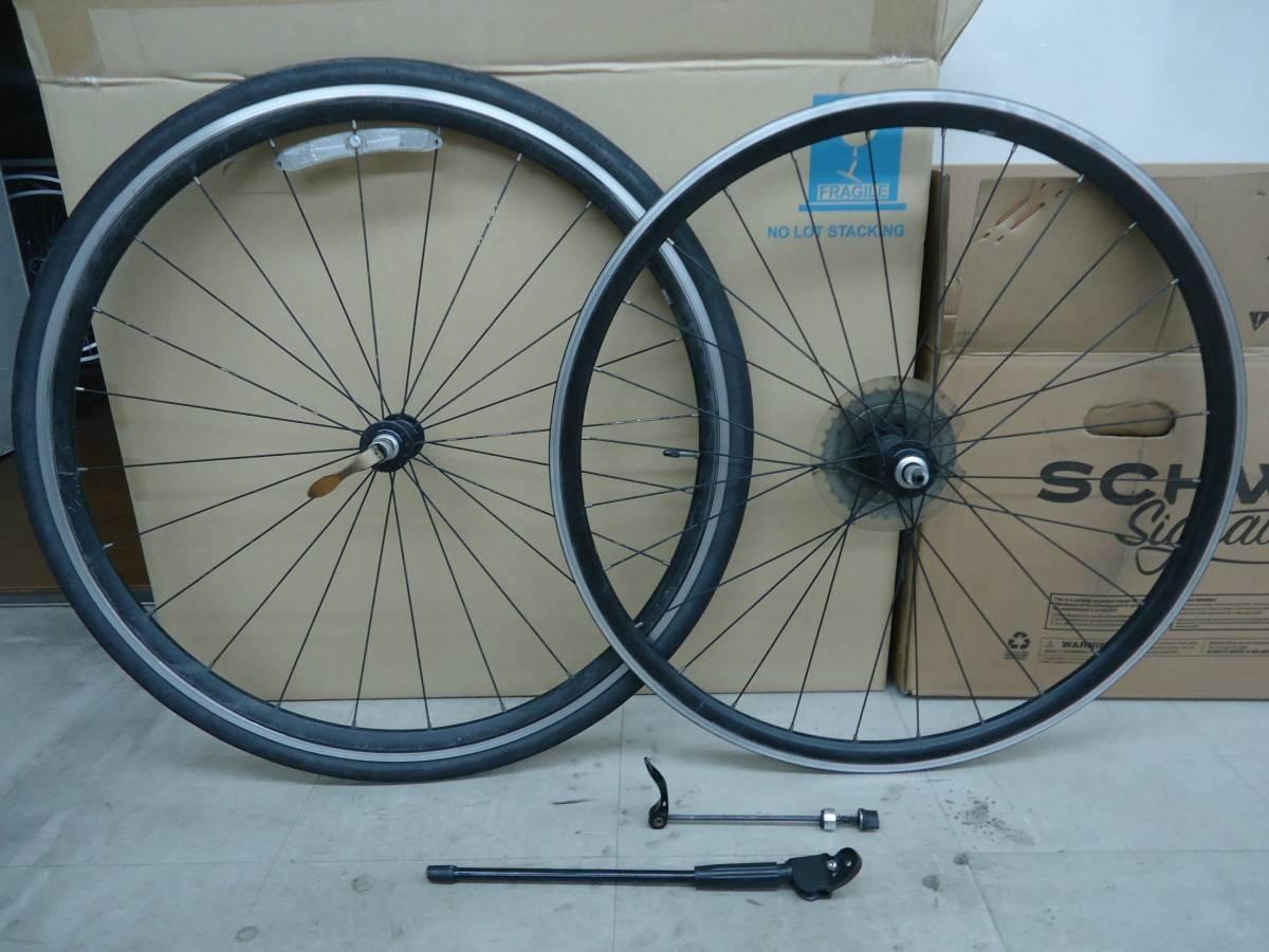 【中古】クロスバイク用ホイール GIANT エスケープ R3純正品 リアエンド130mm