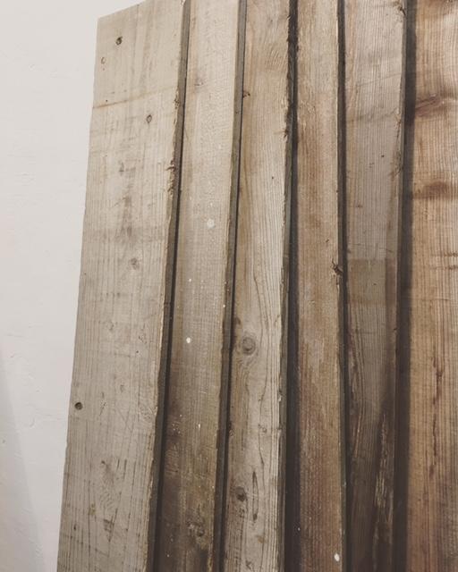 数量限定 大人気 厚みが薄いモデル(厚み:1.5cm)1.9m/1枚 古材 中古 足場板 アンティーク 杉足場板 リフォーム リノベーション A-15_画像4