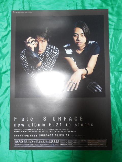 SURFACE サーフィス Fate B2サイズポスター