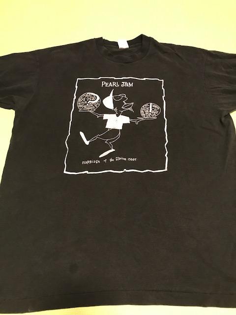 希少90s PEARL JAM パールジャム ビンテージTシャツ nirvana soundgarden レッチリ