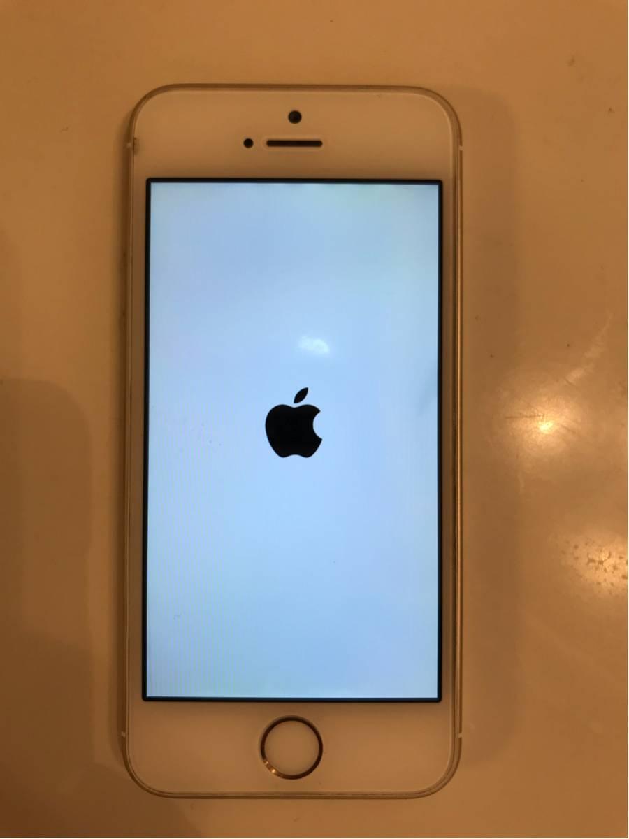 iPhone 5s docomo 16GB ゴールド 訳あり