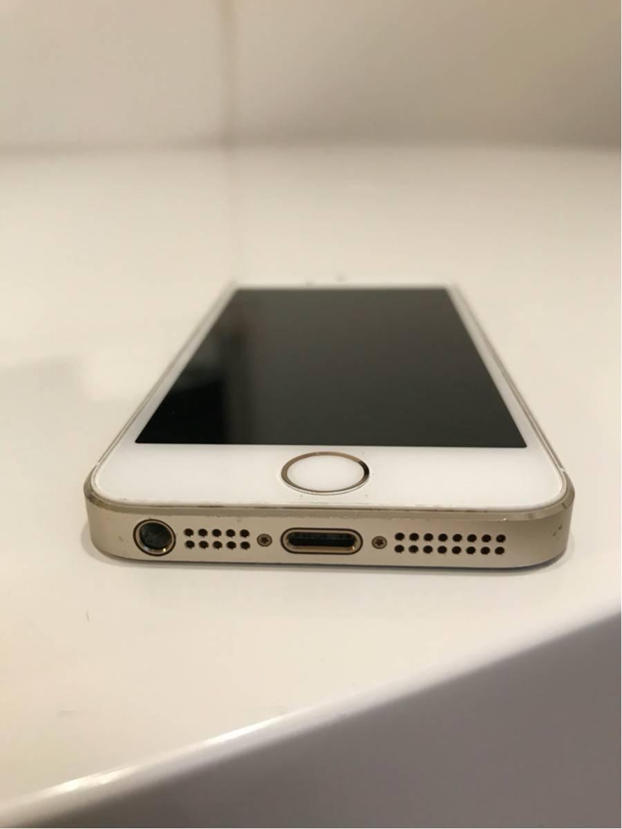 iPhone 5s docomo 16GB ゴールド 訳あり_画像3