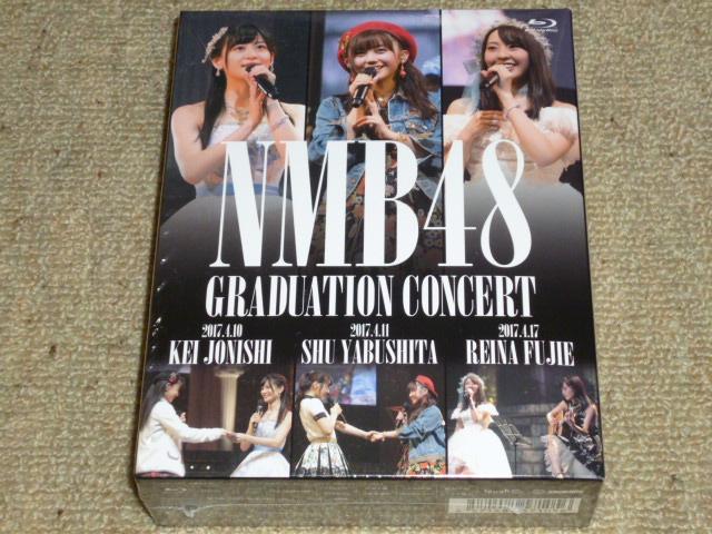 NMB48 GRADUATION CONCERT ~KEI JONISHI / SHU YABUSHITA / REINA FUJIE~ Blu-ray 3枚組