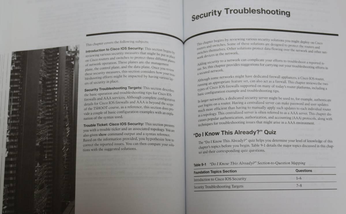 【送料無料】 CCNP TSHOOT 642-832 Official Certification Guide_画像8