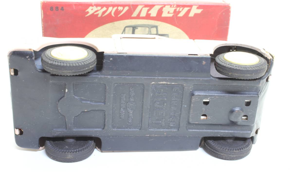 旧バンダイ日本製ブリキ ダイハツ ハイゼットBANDAI DAIHATSU HIJET TIN FRICTION Vintage_画像5