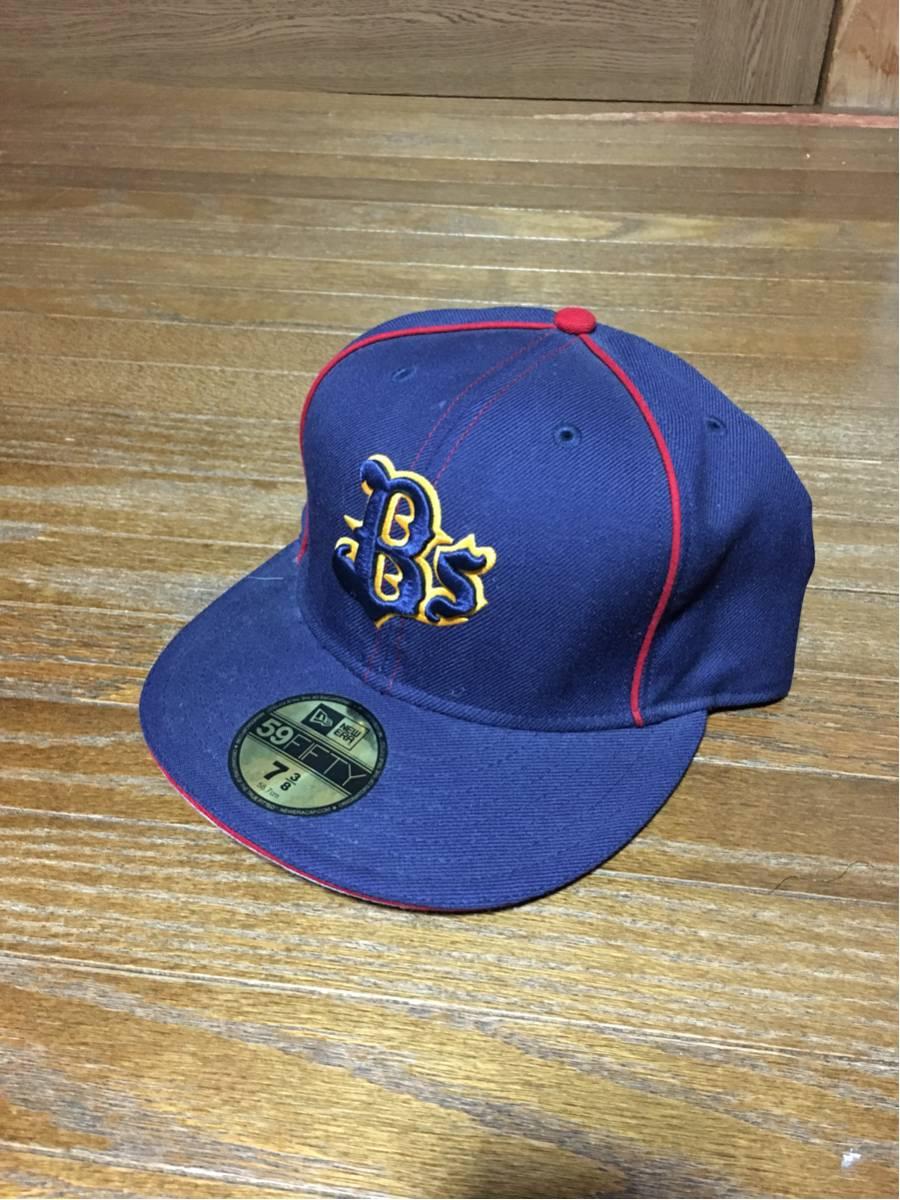 プロ野球 オリックス バファローズ 選手支給品 キャップ 帽子 未使用 直筆サイン入り グッズの画像