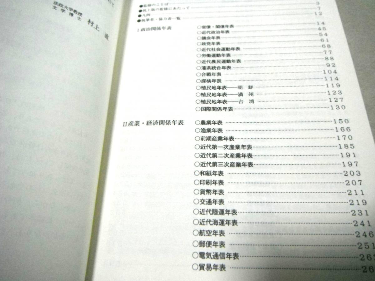 年 日本 表 史