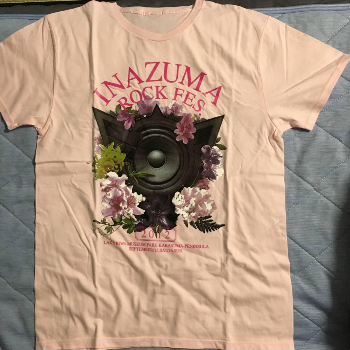 イナズマロックフェス 2012 Tシャツ T.M.Revolution 新品 ライブグッズの画像