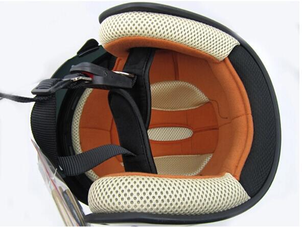 新入荷 ZEUS 内蔵式サングラス パイロットヘルメット 17色選択可 C-L_画像3
