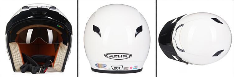 新入荷 ZEUS 内蔵式サングラス パイロットヘルメット 17色選択可 C-L_画像2
