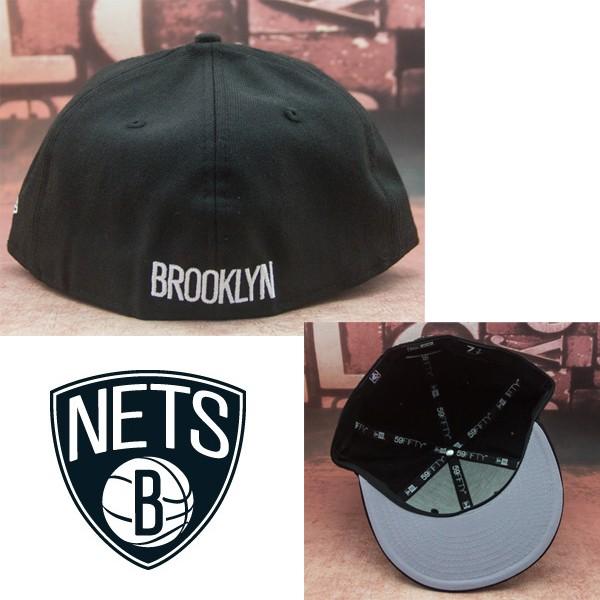 NBA BROOKLYN NETS ブルックリン ネッツ NEWERA ニューエラ キャップ_画像3