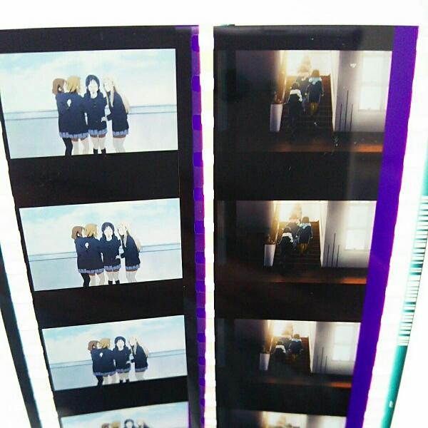 劇場版 けいおん! 入場者 特典 フィルム 屋上 階段 唯 澪 律 紬 グッズの画像