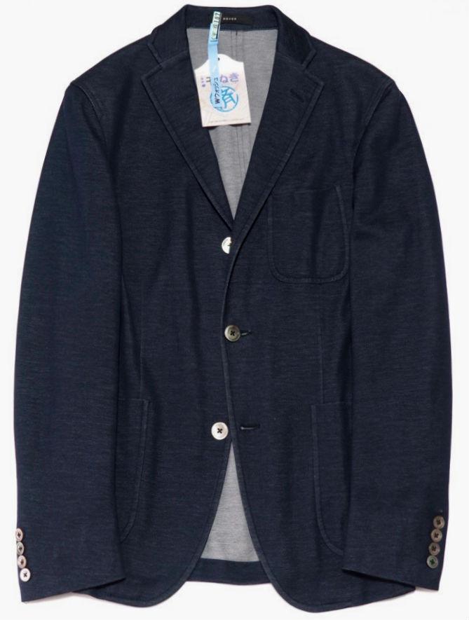 BOGLIOLI(ボリオリ)のドーバー(DOVER)ジャケット ネイビー 紺ジャケ サイズ44