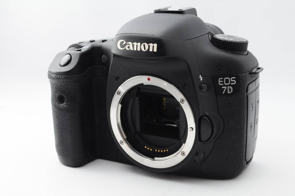 ★ワンオーナー極上品★ CANON キヤノン EOS 7D S数少なめ! きれいです! A120