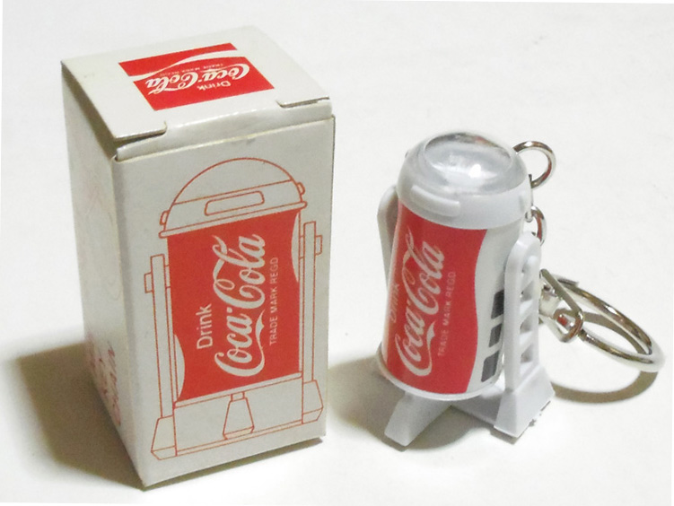 激レア・70年代・コカ・コーラ R2-D2 キーチェーン キーホルダー スター・ウォーズ STAR WARS_コカ・コーラ R2-D2 キーチェーン